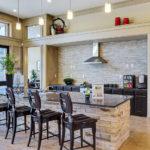 Interior Shot of Amenity Center Dining Area at Regalia Mansfield, Sovereign Properties