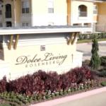 Entrance Sign at Dolce Living Rosenberg, Sovereign Properties