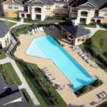 Overhead Shot of Community Pool at Dolce Living Rosenberg, Sovereign Properties