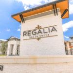 Entrance Sign at Regalia Bella Terra, Sovereign Properties