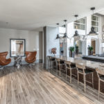 Interior Shot of Amenity Center Dining Area at Regalia Bella Terra, Sovereign Properties