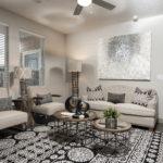 Interior Shot of Living Room at Regalia Bella Terra, Sovereign Properties
